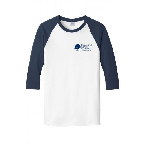 Gildan Heavy Cotton 3/4-Sleeve Raglan T-Shirt